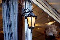Dekoracyjny lampion dla gazebos zdjęcia royalty free