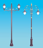 Dekoracyjny latarnia set Zdjęcia Stock