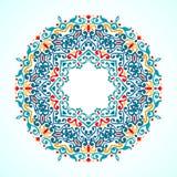 Dekoracyjny mandala Zdjęcie Royalty Free