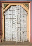 Dekoracyjny metalu drzwi Zdjęcie Stock