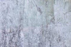 Dekoracyjny narzut z nier?wn? tekstur? Szarość kit Stara gipsuj?ca ?ciana z plamami i narysami t?a pusty odosobniony notatnika pa zdjęcie stock