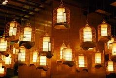 dekoracyjny oświetlenie obrazy stock