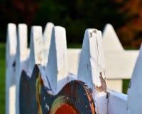 Dekoracyjny ogrodzenie Zdjęcie Royalty Free