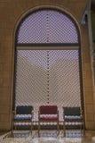 Dekoracyjny okno w muzeum Dla Islamskiej sztuki Zdjęcia Stock