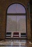 Dekoracyjny okno w muzeum Dla Islamskiej sztuki Fotografia Royalty Free