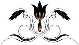 dekoracyjny ornament royalty ilustracja
