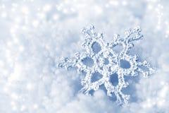dekoracyjny płatek śniegu Zdjęcia Royalty Free