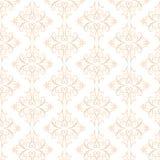 Dekoracyjny pomarańcze wzór pochodzenie wektora abstrakcyjne Zdjęcie Stock