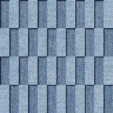 Dekoracyjny płytka wzór niebiescy dżinsy tekstura - bezszwowy tło - Obrazy Stock