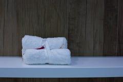 Dekoracyjny ręcznik zdjęcia stock