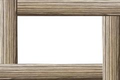 dekoracyjny ramowy drewniany Fotografia Stock