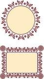 dekoracyjny ramowy motyw Zdjęcie Royalty Free