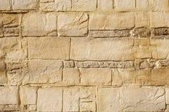 Dekoracyjny reliefowy brązu i ecru tynk Obrazy Stock