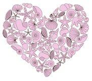 Dekoracyjny serce Zdjęcia Stock