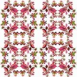 Dekoracyjny skład - Paisley na białym tle Watercol Obrazy Royalty Free