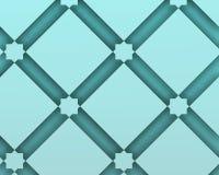 Dekoracyjny skład z błękitnymi squaresashion wektorami Zdjęcie Royalty Free