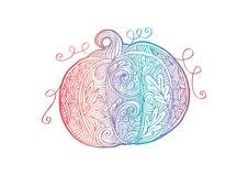 Dekoracyjny styl bania ilustracji