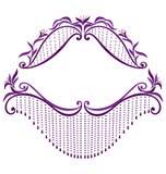 Dekoracyjny szablon 1 Zdjęcie Royalty Free