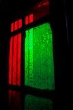 Dekoracyjny szklany okno Fotografia Stock