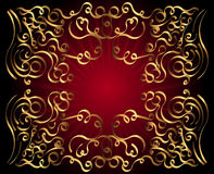 dekoracyjny tło ornament ilustracji