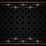 Dekoracyjny tło z dekoracjami - wzór ilustracja wektor