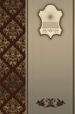 Dekoracyjny tło z ramy i rocznika wzorami Obrazy Royalty Free