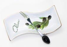 dekoracyjny talerz Obraz Stock