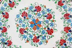 dekoracyjny talerz Zdjęcie Royalty Free