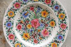 dekoracyjny talerz obrazy royalty free