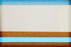 Dekoracyjny tkaniny tło Zdjęcie Stock
