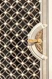 Dekoracyjny Wejściowy drzwi obrazy stock