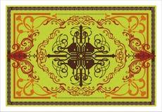 Dekoracyjny wektorowy dywanu wzór Zdjęcia Royalty Free