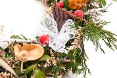 Dekoracyjny wianek od winogradu Fotografia Stock