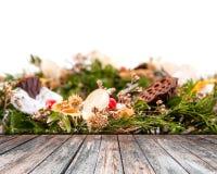Dekoracyjny wianek od winogradu Fotografia Royalty Free