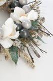 Dekoracyjny wianek z kwiatami Zdjęcie Royalty Free