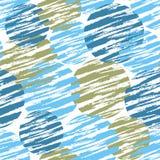 Dekoracyjny wzór z okręgami Zdjęcie Royalty Free