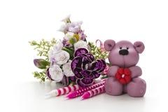 Dekoration με teddy Στοκ φωτογραφίες με δικαίωμα ελεύθερης χρήσης