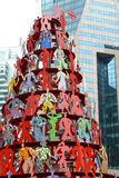 Dekoration auf chinesischem neuem Jahr Stockfotografie