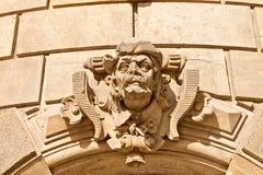 Dekoration auf der Fassade des Hauses Lizenzfreie Stockfotos