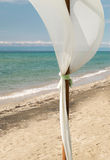 Dekoration auf tropischem Strand Lizenzfreie Stockfotos