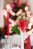 Dekoration auf Weihnachtsdekoration Stockfotografie