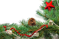 Dekoration de Noël Photo stock