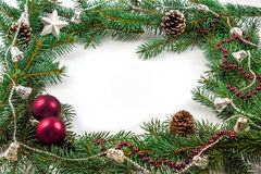 Dekoration de Noël Image libre de droits