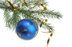 Dekoration del árbol de navidad Foto de archivo