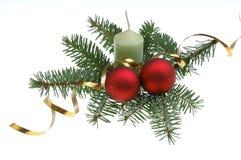 Dekoration del árbol de navidad Fotografía de archivo