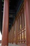 Dekoration der eligious Gebäude Peking China Tempels Himmelstempels Tiantan Daoist Stockfoto