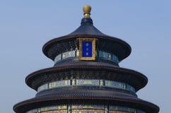Dekoration der eligious Gebäude Peking China Tempels Himmelstempels Tiantan Daoist Stockbild