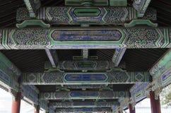 Dekoration der eligious Gebäude Peking China Tempels Himmelstempels Tiantan Daoist Stockbilder