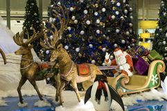 Dekoration der Weihnachten in China Lizenzfreie Stockfotografie