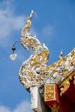 Dekoration des buddhistischen Tempels Stockbilder